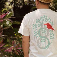 八重山の森のアカショウビン/Tシャツ