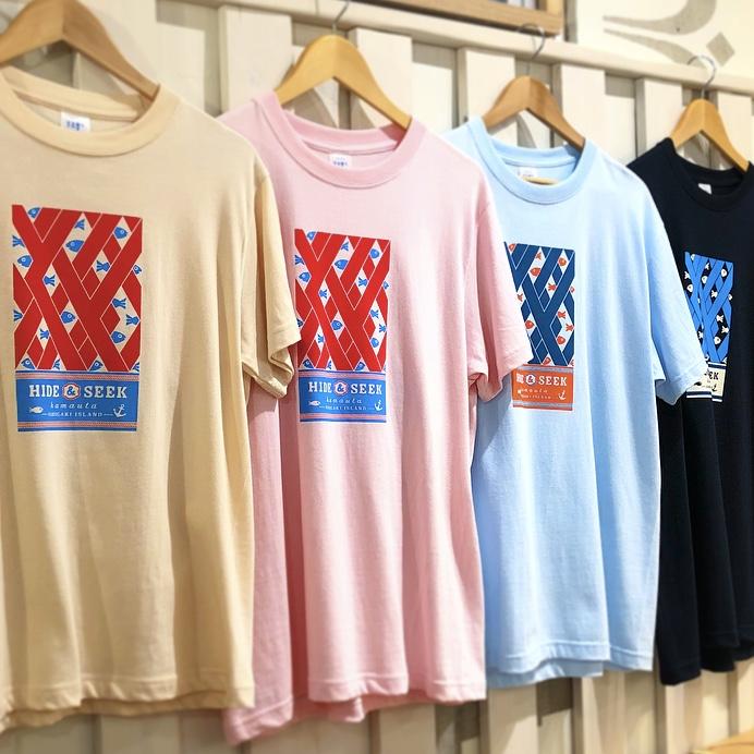 「HIDE&SEEK」Tシャツ