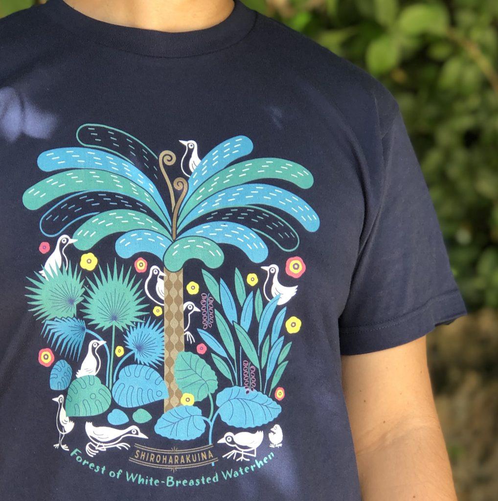 シロハラクイナTシャツ