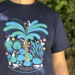 シロハラクイナの森Tシャツ
