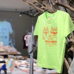 アートでアートTシャツ展シーサーTシャツ
